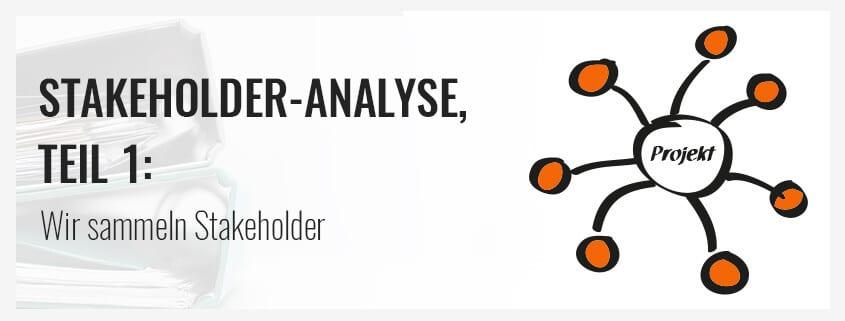 Stakeholder identifizieren