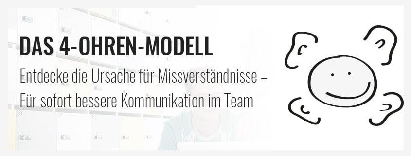 das 4 ohren modell entdecke die ursache fr missverstndnisse - Kommunikationsquadrat Beispiel
