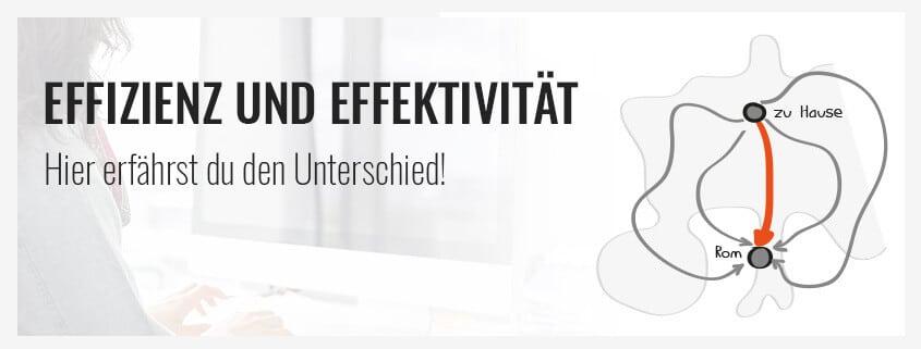 Effizienz - Effektivität: Der Unterschied einfach erklärt