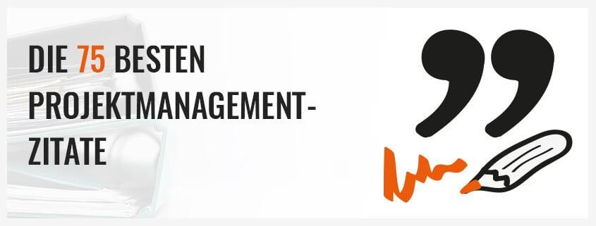 Die 75 besten Projektmanagement Zitate   Projekte leicht gemacht