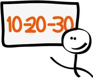 10-20-30-regel