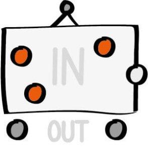 In- und Out-Rahmen für ein Projekt bestimmen