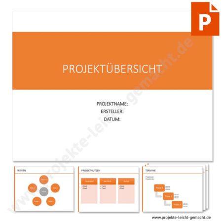 Vorlage Projektsteckbrief