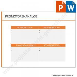 Vorlage Promotorenanalyse