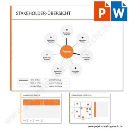 Vorlage Stakeholderanalyse