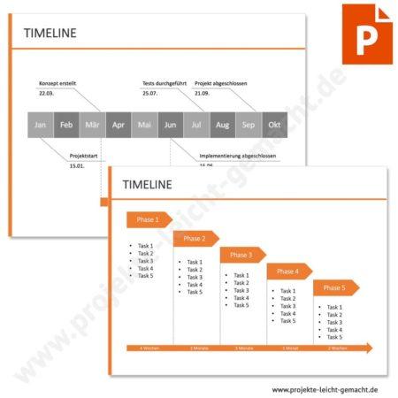 Vorlage Timeline