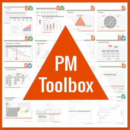 PM-Toolbox - Das Projektmanagement-Vorlagenpaket