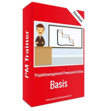 Projektmanagement-Powerpoint-Folien - Basis-Paket