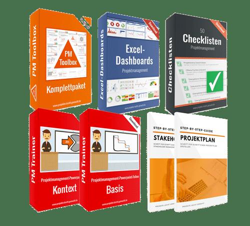 Projektmanagement-Vorlagen