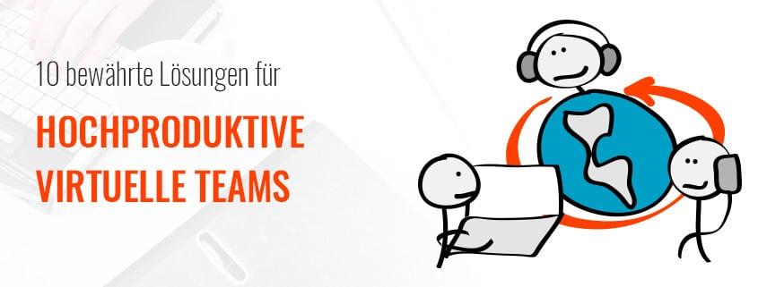Lösungen für virtuelle Teams