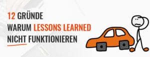 Typische Fehler bei Lessons Learned